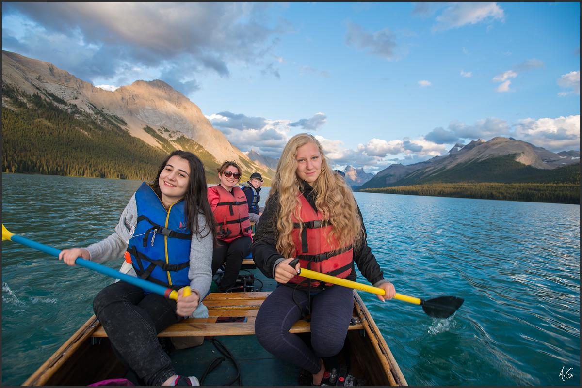 Maligne Lake Jasper National Park