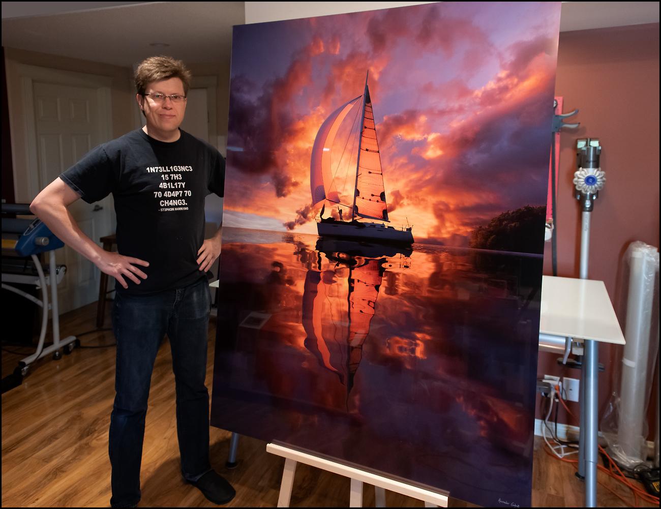 Sailor - Acrylic Print