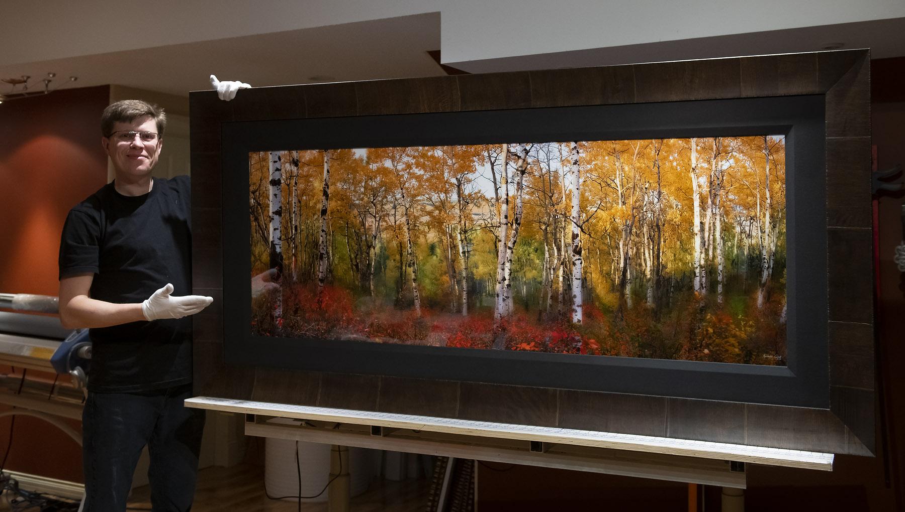 ROMA Moulding Tabacchino custom frame