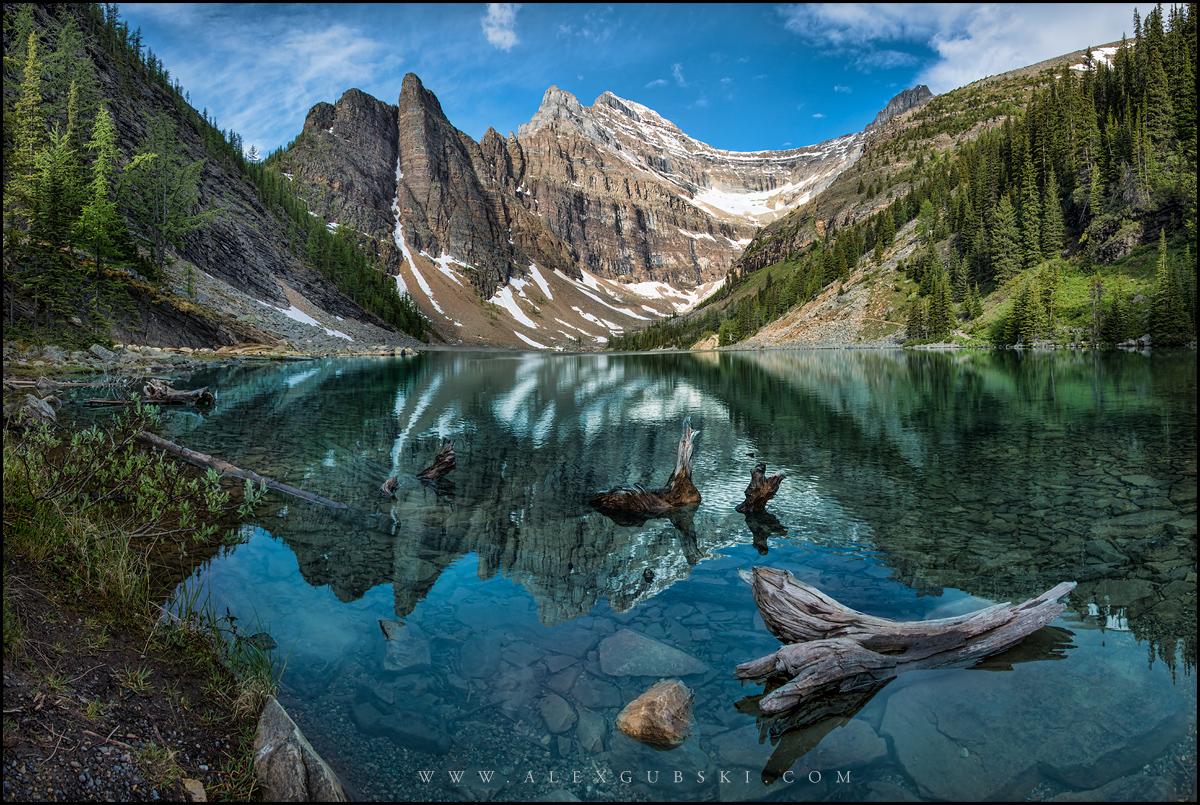 Agnes Lake in Banff National Park