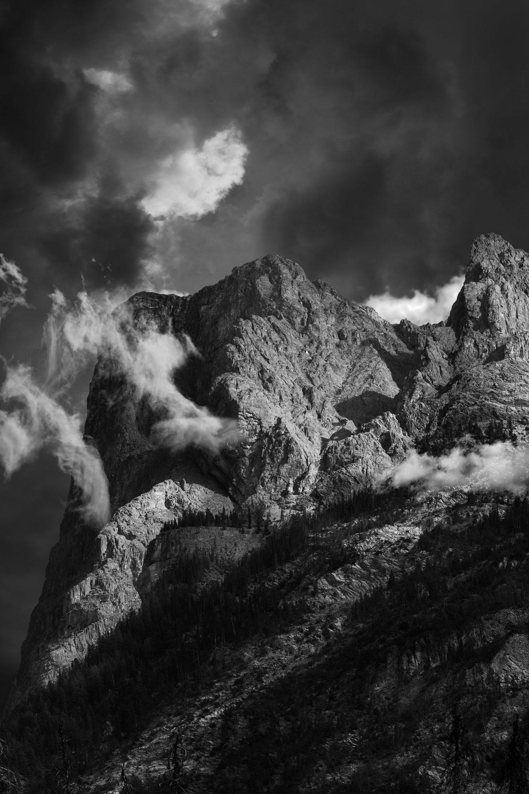 Mount Burgess Fine Art Photographic Print by Alex Gubski