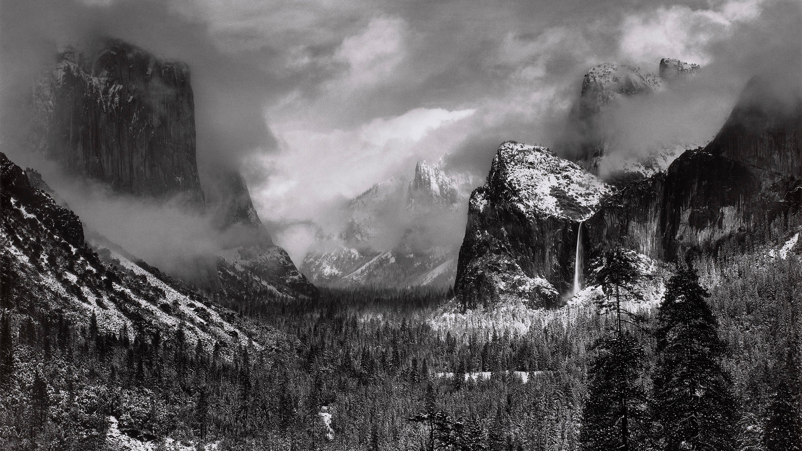 �Clearing Winter Storm, Yosemite National Park,� by Ansel Adams