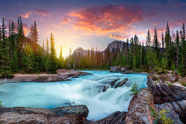Alex Gubski Fine Art Deep in the Rockies